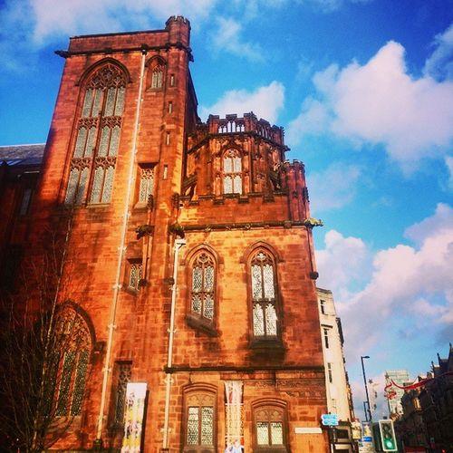 Deansgatelane MCR Architecture Beautiful Winter Manchester Followme Spinningfields Bluesky 2014