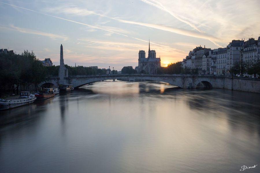 Pont De La Tournelle Temps De Pose Long Filtre De Densité Neutre ND Filter Hoya Ndx 400
