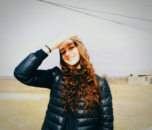 Young Adult Smiling Sky Longhair♥ Beauty In Nature SparklingEyes