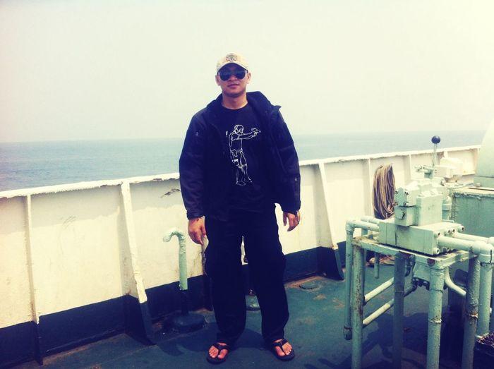 Traveling from jakarta to lampung city via seaport Merak, Sunda Strait Merak Lampung Asdp Verry