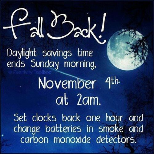 Extra hour to party!