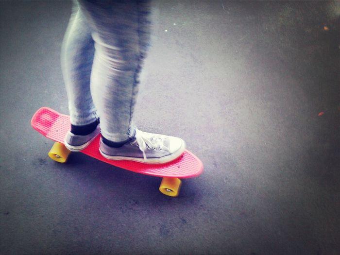 Skater Girl Cruiser Board Skater Life Skateboarding In Berlin