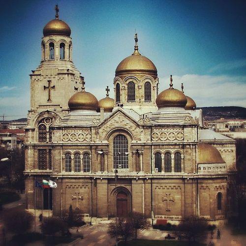 Varna Варна катедрала Cathedral latergram fujifinepix s5500