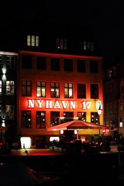 Capture Tomorrow Building Exterior Illuminated Night City Built Structure Architecture Street City Life Outdoors Copenhagen, Denmark Nyhavn Nyhavn Copenhagen