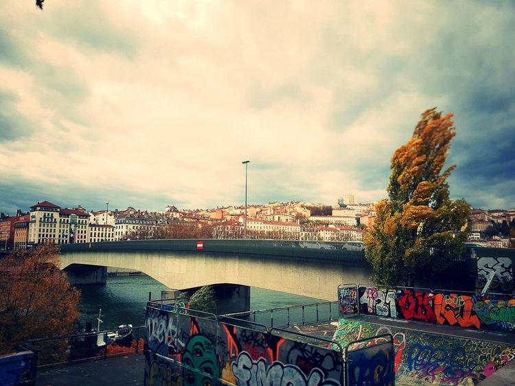 Lyon France Skateboard Skatepark Saône River Loire River Bridge Croix Rousse Croixrousse Pardieu