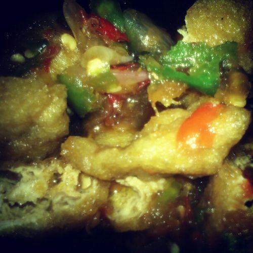 """Tahu Gejrot"" Kuliner Tradisional Cirebon  Bandung INDONESIA Traditional Food Lenovotography Photophone  Lzybstrd"