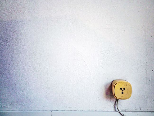 Old italian socket Wall - Building Feature Outlet Electricity  Indoors  Background Backgrounds Wallpaper Abstract Italy Vintage Old Socket Energy Structure Rough Plaster White White Color