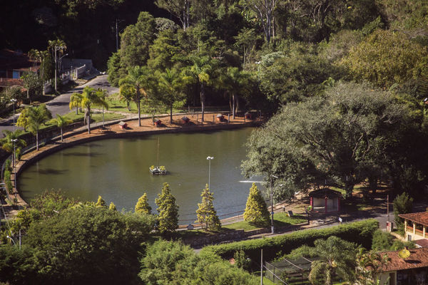 Lago dos Patos Day Green Color Growth Laggon Nature Outdoors Tranquility Tree Water
