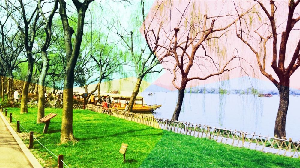 At Tai Zi Wan Park with my roommate !👭 Weather is so nice and there is crowded 😣 But we had a beautiful Saturday ! Hhhhh