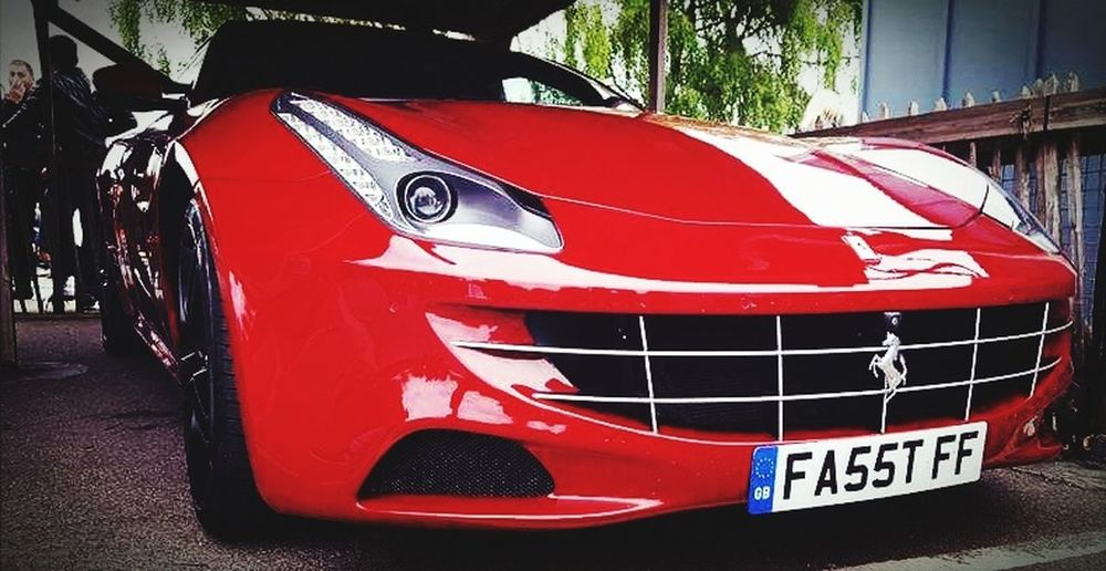 Ferrari Car Red