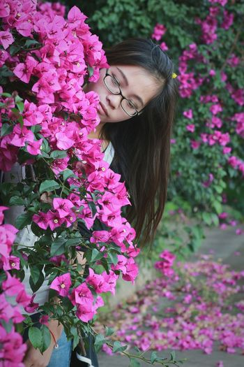 花间人像 People Photography Portrait Beauty Flowers Girl 行色摄影 365 Project Of Virgolcj Taking Photos 西南林业大学