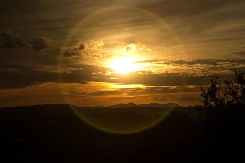 Colourful Landscape Nature SPAIN Silhouette Sunlight Beauty In Nature Cloud - Sky Cloudy Sunset Colorfull Sky Colourful Sky Landscape No People Outdoors Shadow Sky Sun Sundown Sunlight And Shadow Sunset