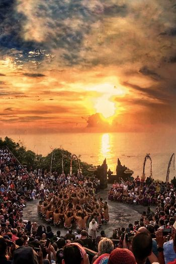 Sunset Crowd