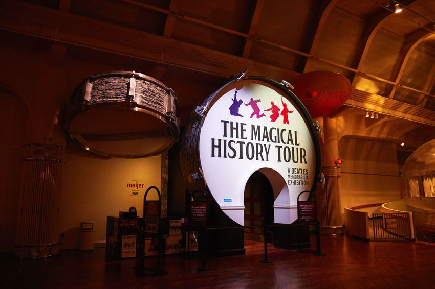 2016 Drums Henry Ford Musem Museum Music Rock And Roll The Beatles The Magical History Tour Vintage