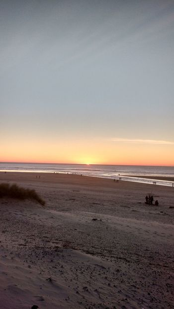 Beach Sea Sunset Sand Nature Horizon Over Water Outdoors Beauty In Nature Scenics Sky Tranquility Water Summer Dramatic Sky Tranquil Scene Coastal Feature Landscape No People Day Romantic Sky Oregon Coast Canon Beach