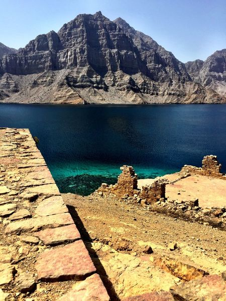 Oman Musandam Clear Water IPhoneography Check This Out No Filter Wild Places Musandam Oman Taking Pictures