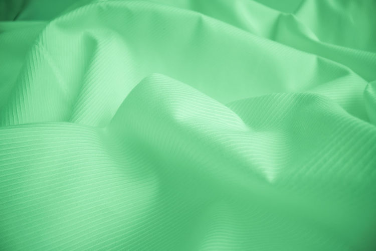 Full frame shot of green textile