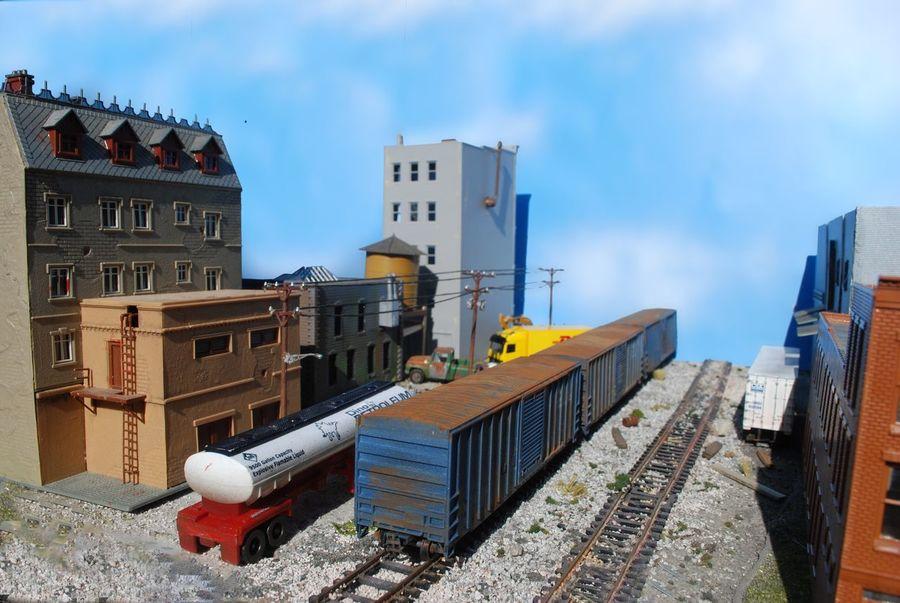 HO Scale Modeling, Toyoutsiders Dioramas Ho Train Toyartistry 1/87scale