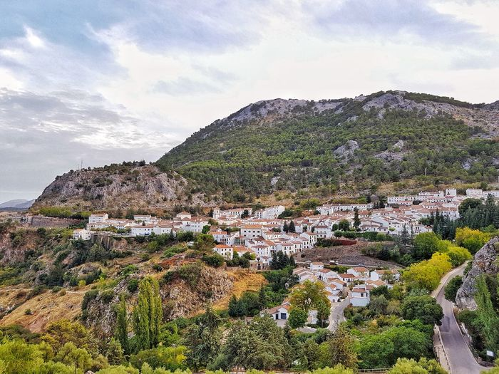 Pueblo Blanco Landscape Outdoors No People Beauty In Nature Mountain Scene White Towns White Village Spain🇪🇸 Andalusia Travel Travel Destinations Travel Photography Grazalema Sierra