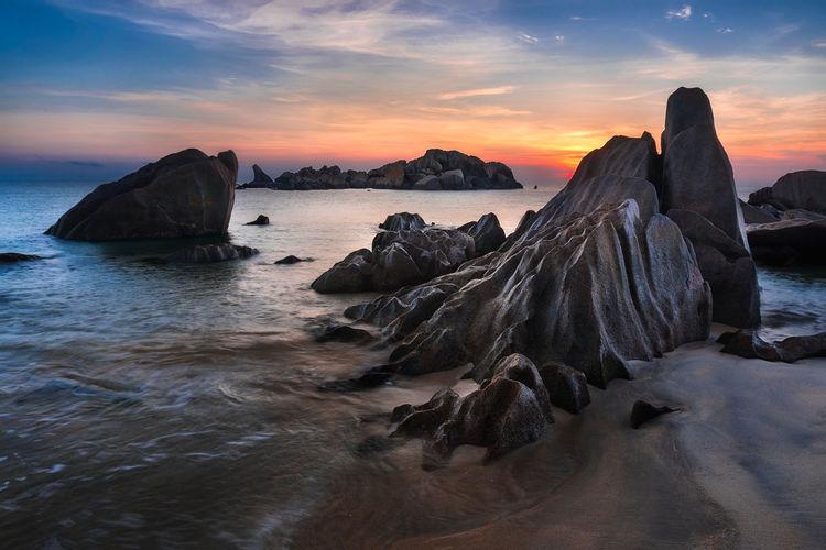 Sky Water Rock
