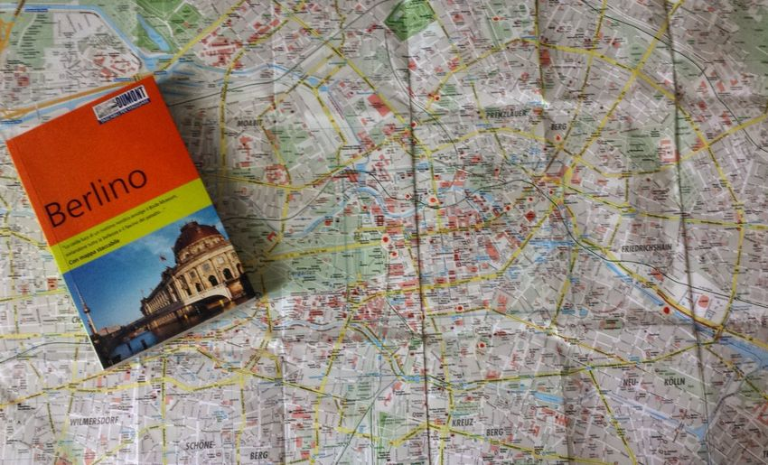 Map No People Text Close-up Day Berlin Outdoors Eyem Best Shot - My World Eyemgallery Eyem Best Shots EyeEmBestPics Cityscape Lifestyles Discover Berlin