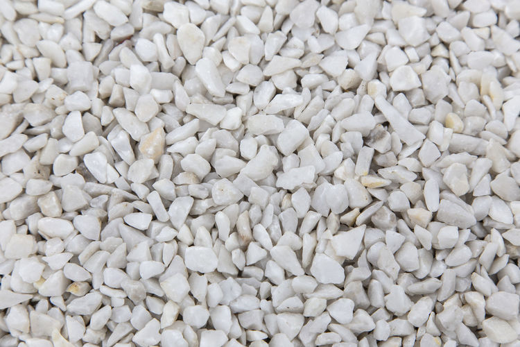 White stone gravel background texture. Large Group Of Objects Food And Drink Food Abundance Full Frame White Color Raw Food Wellbeing Backgrounds Healthy Eating Close-up Indoors  Freshness No People Studio Shot Ingredient High Angle View Seed Retail  Heap Vegetarian Food