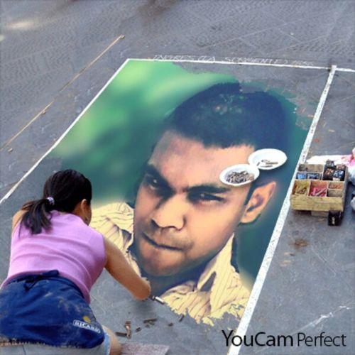 Um on a street art hello world First Eyeem Photo