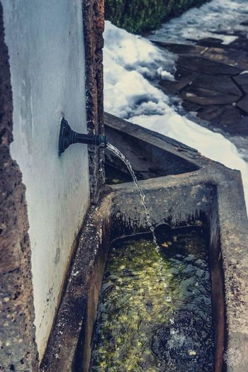 Water Water Wheel Watermill No People Outdoors Day Close-up Nature Hydroelectric Power