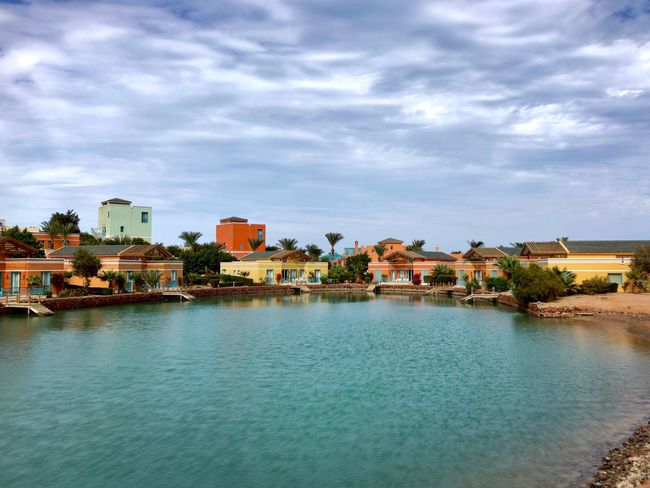 El Gouna El Guna El-Guna El-Gouna Ägypten  Egypt Rotes Meer Red Sea Lagune Lagoon © MJ ® Tadaa Community Tadaa Tadaa Friends Architecture Building Exterior Sky Built Structure Town Residential Building Water House Waterfront City Outdoors No People Nature Residential  Day