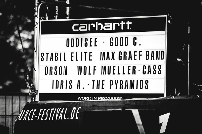 Carharrt Festival Season Open Source Festival  Duesseldorf TakeoverMusic