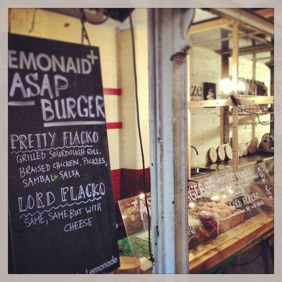 Asap Burgers Streetfood Grabbing A Bite