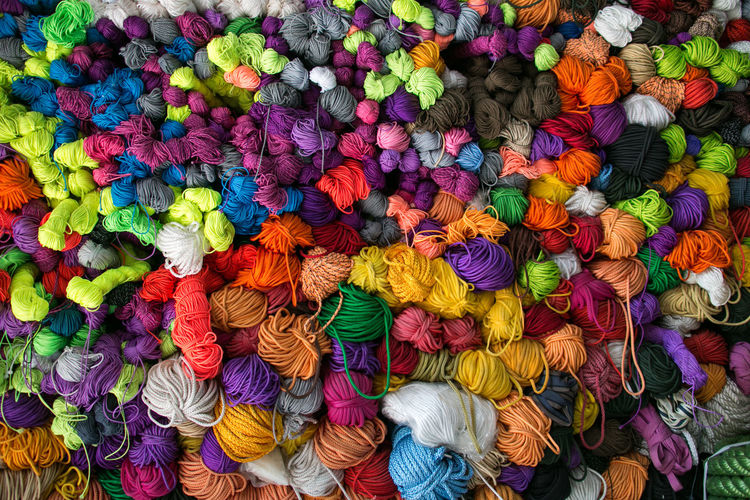 Colorful Backgrounds Background Background Texture Background Photography Hintergrundgestaltung Handmade Ropes Ropes And Lines Cord Multi Colored Wool Choice Variation Textile Full Frame Large Group Of Objects No People Art And Craft Retail  Abundance Close-up Market Craft In A Row
