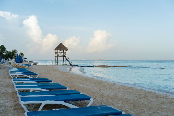 Playa Norte Beach in Isla Mujeres, Mexico Beach Beauty In Nature Blue Day Horizon Over Water Isla Mujeres Me Mexico Mujeres Nature No People Norway Outdoors Playa Sand Scenics Sea Sky Tranquility Water