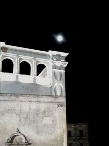 Si vede la luna perfino da qui