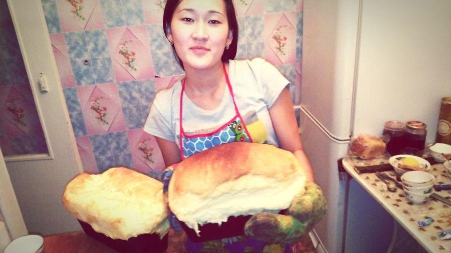 Печем с ажекой хлеб хлебвсемуголова