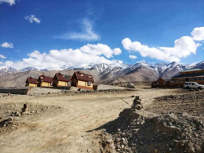 Leh Leh Diaries Retreat In The Mountains Doorway To Peace Roof Of The World Alpine Cottages Himalayan Range Pangong Tso Rocky Mountains Snowcapped Mountain Mountain Range The Traveler - 2018 EyeEm Awards The Great Outdoors - 2018 EyeEm Awards