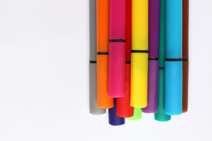 Color pen. Pile with color pens isolated on white background. Color background texture, felt-pen activity. Children school fun time. Students painting time. School supplies. Drawing supplies. No sharpen. Color background texture Autumn Children Color Background Texture Coloring Coloring Pencils Fun Isolated Kids Colored Background Coloring Pens Draw Drawing Education Pen Pencil Pentax School School Life  School Supplies Schooltime Summer Supplies Supply Vacation White Background