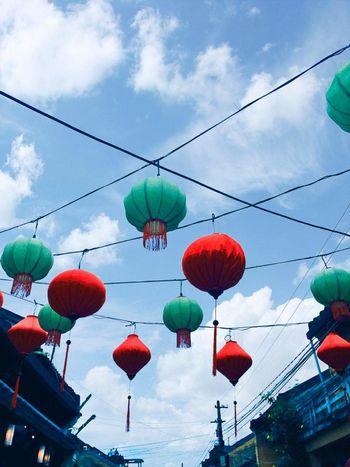 The beauty of hoian ancient town Cloud - Sky Hoian, Vietnam Ancient Town Lanterns Beautyful ❤ First Eyeem Photo BYOPaper!