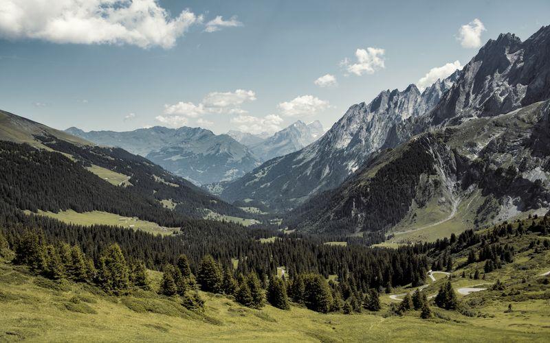 Engelhörner Environment Formation Grosse Scheidegg Landscape Mountain Mountain Peak Mountain Range Nature Outdoors Scenics - Nature Swiss Alps Tourism The Great Outdoors - 2018 EyeEm Awards