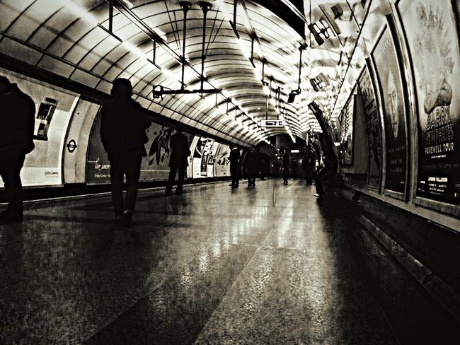 Great Britain London LONDON❤ Hello World Underground Blackandwhite Black And White My Point Of View My Passion My Passion ❤ My New Life  Taking Photos Showcase: February Reflection Reflections Reflection_collection Tube Transportation