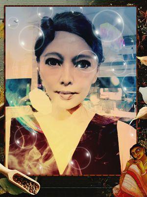 Jessie Young Women Portrait Beautiful Woman Women Futuristic Beauty Fashion Technology Close-up