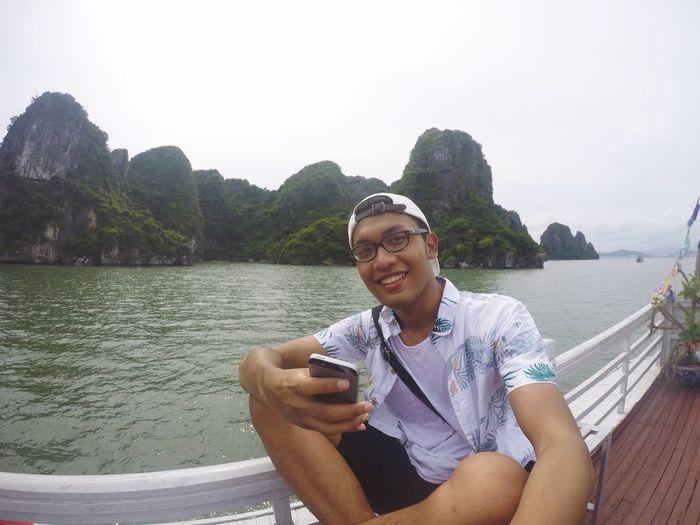 Lets take a selfie. Selfie ✌ Gopro Halong Bay Vietnam EyeEm Best Shots