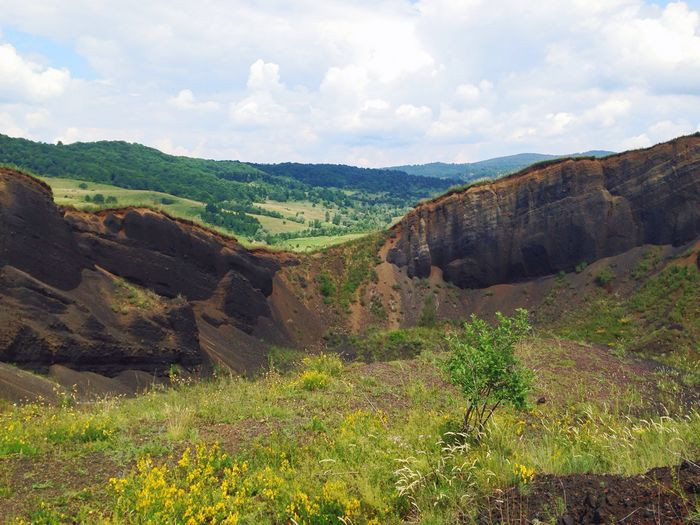 Traveling Landscape Nature Volcano Landscape_Collection Romania Travel Trees Nature On Your Doorstep