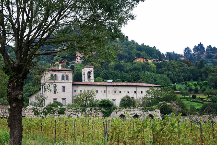 Abbey of Astino - Bergamo, Lombardy, Italy. Abbey Architecture Bergamo Country Italia Lombardy Travel Architecture Astino Astino Abbey Beauty In Nature Building Building Exterior Built Structure Countryside Europe Growth Hill Italy Lombardia Nature No People Old Outdoors Tourism