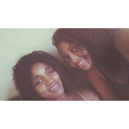 With My Mommy❤ Love ♥ Black Girl