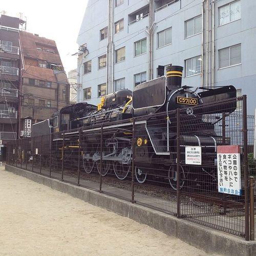 C57型発見\(^o^)/ 蒸気機関車 鉄分補給