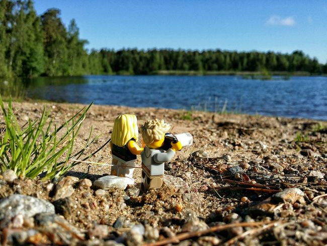 Just living the dream without annoying kids. Wohooo. . Malephotographerofthemonth Adventures Of Mini Me My Propart Lego Minifigures LEGO The Traveler - 2015 EyeEm Awards The Great Outdoors - 2015 EyeEm Awards Landscape Toy Photography Soaking Up The Sun