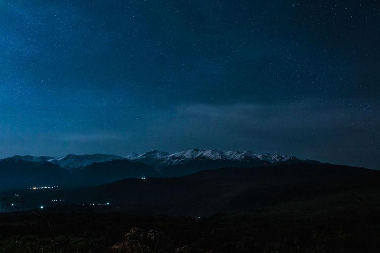 Few shots from my trip to Chania, Greece Travel Photography Chania Crete White Mountains Stars Night No People Starry Sky Landmark Wiev Mountain Range Outdoor