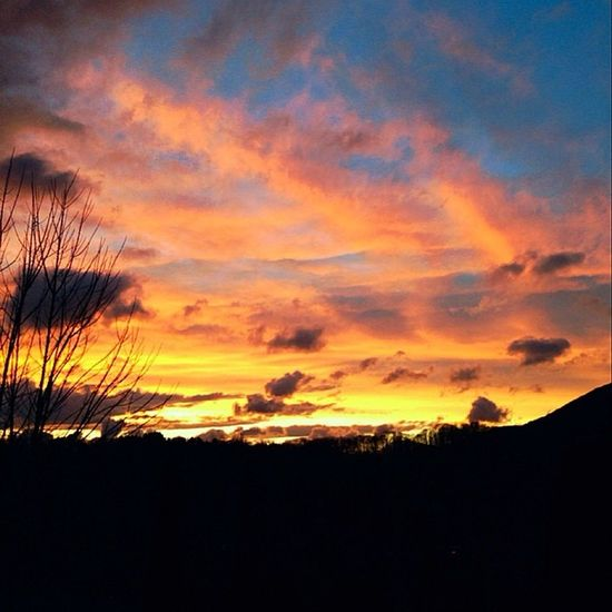 """Boone sunsets are pure beauty. Constantly reminding me of how blessed I am to be here. """"Out of Zion, the perfection of beauty, God shines forth."""" -Psalm 50:2 Boone Sunset Beautiful Blessed"""