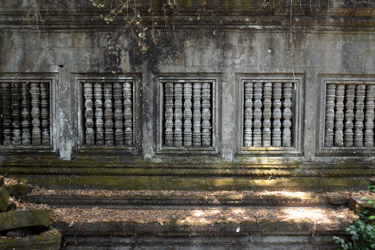 Abandoned Temple Wall